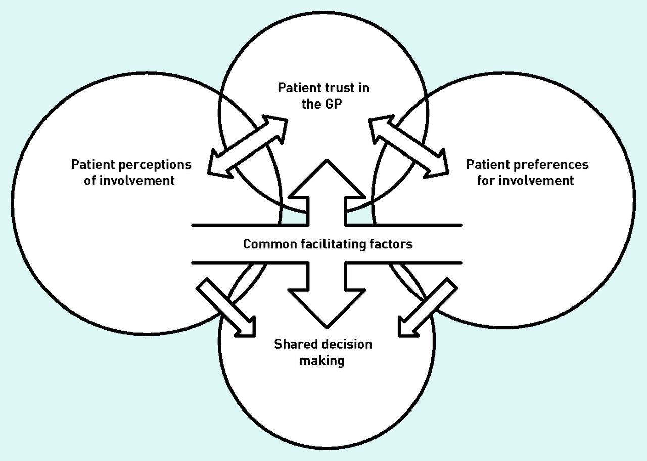 Older patients and their GPs: shared decision making in