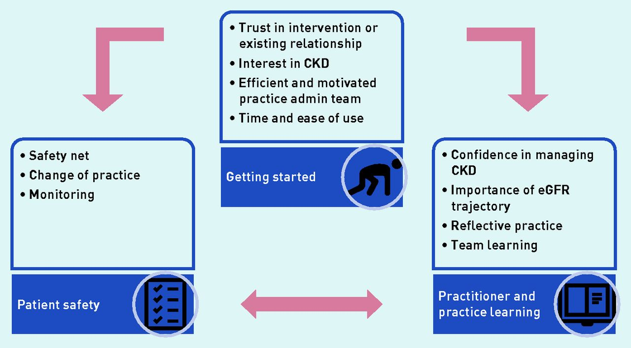 Using chronic kidney disease trigger tools for safety and