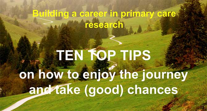Building a career in primary care research