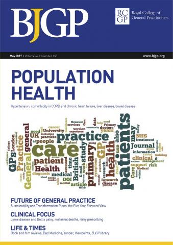 British Journal of General Practice: 67 (658)