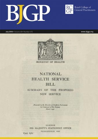 British Journal of General Practice: 68 (672)