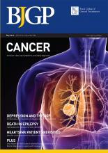 British Journal of General Practice: 61 (586)