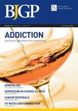 British Journal of General Practice: 61 (593)