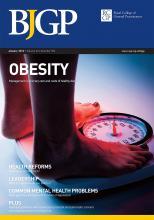 British Journal of General Practice: 62 (594)