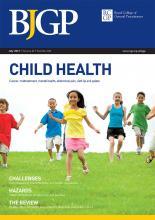 British Journal of General Practice: 62 (600)
