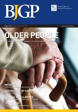 British Journal of General Practice: 62 (601)