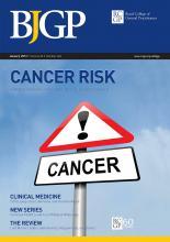 British Journal of General Practice: 63 (606)