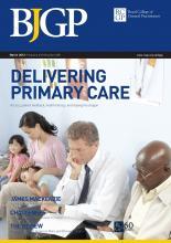 British Journal of General Practice: 63 (608)