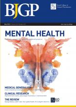 British Journal of General Practice: 63 (610)