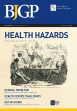 British Journal of General Practice: 63 (613)