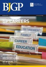 British Journal of General Practice: 63 (616)