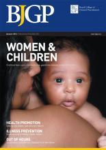 British Journal of General Practice: 64 (618)
