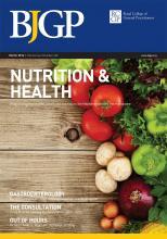 British Journal of General Practice: 64 (620)