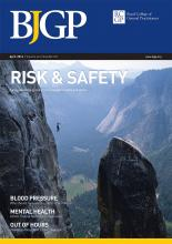 British Journal of General Practice: 64 (621)