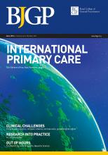 British Journal of General Practice: 64 (623)