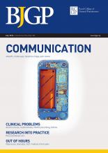 British Journal of General Practice: 64 (624)