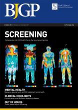 British Journal of General Practice: 64 (627)
