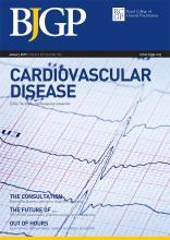 British Journal of General Practice: 65 (630)
