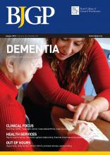British Journal of General Practice: 65 (637)