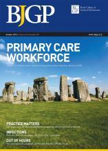 British Journal of General Practice: 65 (639)
