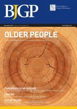British Journal of General Practice: 65 (640)