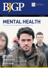 British Journal of General Practice: 66 (643)