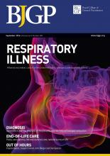 British Journal of General Practice: 66 (650)