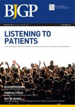 British Journal of General Practice: 66 (652)