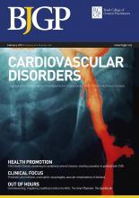 British Journal of General Practice: 67 (655)