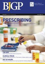 British Journal of General Practice: 67 (656)
