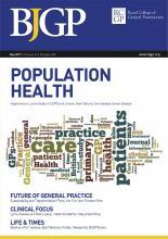 British Journal of General Practice: 67 (658)