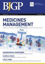 British Journal of General Practice: 67 (662)