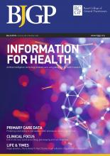 British Journal of General Practice: 68 (668)