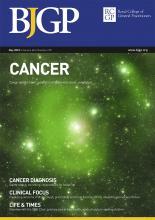 British Journal of General Practice: 68 (670)