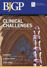 British Journal of General Practice: 68 (674)