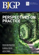 British Journal of General Practice: 68 (677)