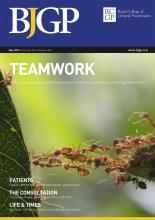 British Journal of General Practice: 69 (682)