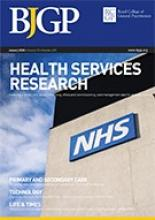 British Journal of General Practice: 70 (690)