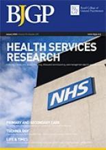 British Journal of General Practice: 70 (690)