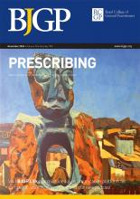 British Journal of General Practice: 70 (700)
