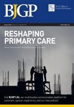 British Journal of General Practice: 71 (702)
