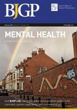 British Journal of General Practice: 71 (703)
